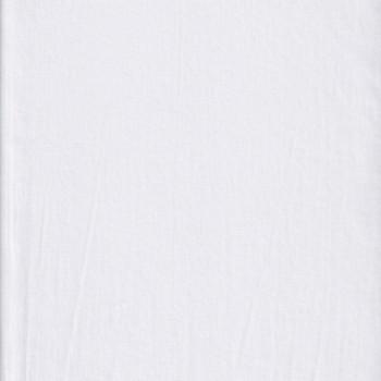 Tissu popeline blanc