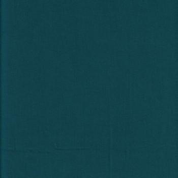 Tissu popeline bleu canard