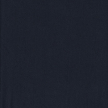 Tissu popeline bleu marine