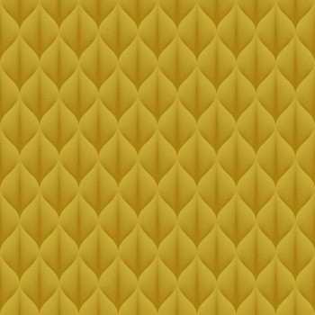 Toile cirée imprimée à motifs jaunes