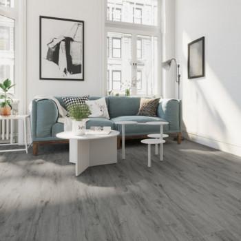Lame vinyle sous couche intégrée chêne gris