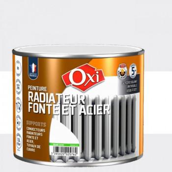 Peinture OXITOL spéciale radiateur fonte et acier blanc satin 1.5 L