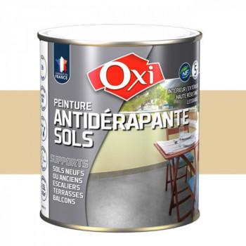 Peinture beige anti-dérapante sols OXITOL 2.5L