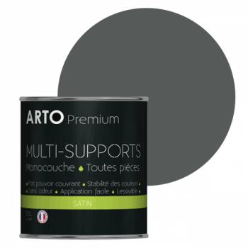 Peinture arto premium multi-supports murs, plafonds, boiseries, plinthes et radiateurs vautour satin 0,5 L