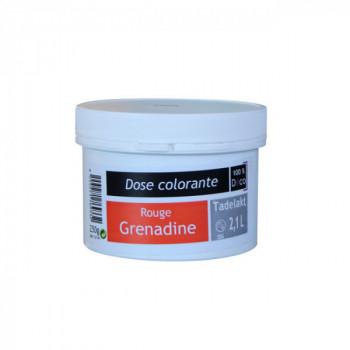 Dose colorante rouge grenadine