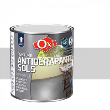 Peinture gris clair anti-dérapante sols OXITOL 0.5L