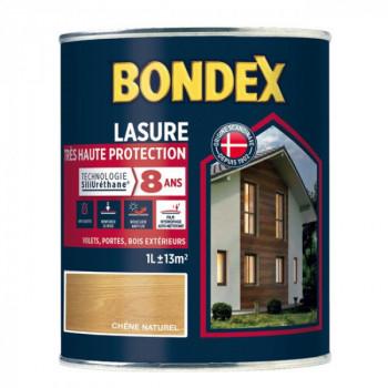 Lasure BONDEX très haute protection 8 ans chêne naturel 1L