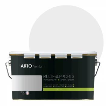 Peinture arto premium multi - supports murs, plafonds, boiseries, plinthes et radiateurs lin naturel satin 2,5 L