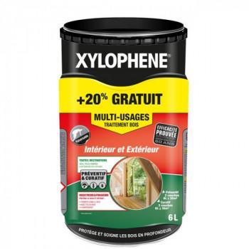 Peinture Xylophene multi-usages traitement spécial bois incolore 6 L