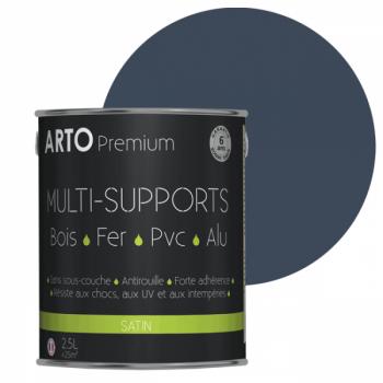 Peinture Arto Premium multi-supports bleu provence satin 2,5L