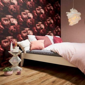 Papier peint intissé roses géantes ROMANTIC DREAM