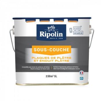 Sous-couche Ripolin spéciale plâtre blanc mat 5 L