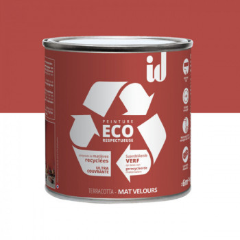 Peinture Eco responsable terracotta mat 0,5L