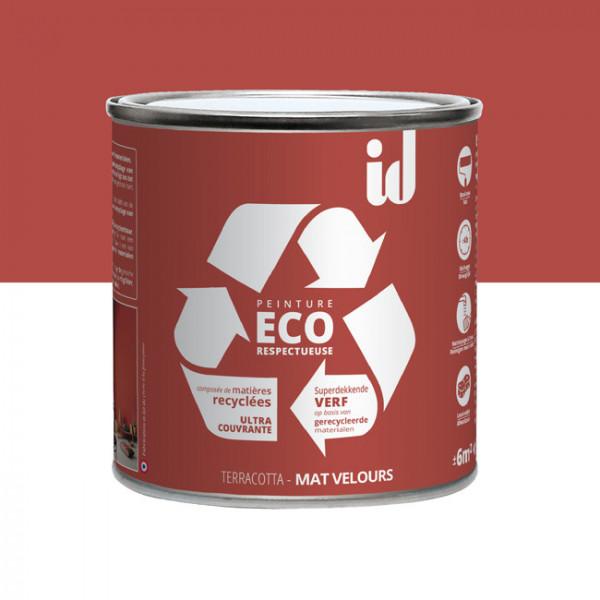 Peinture Eco responsable terracotta...