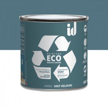 Peinture Eco responsable bleu marine mat 0,5L