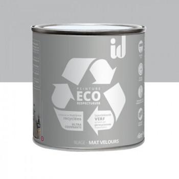 Peinture Eco responsable gris nuage mat 0,5L