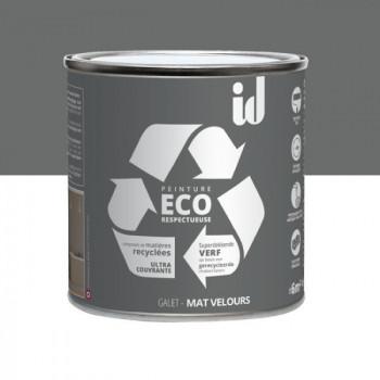 Peinture Eco responsable gris galet mat 0,5L