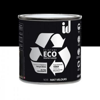 Peinture Eco responsable noir mat 0,5L