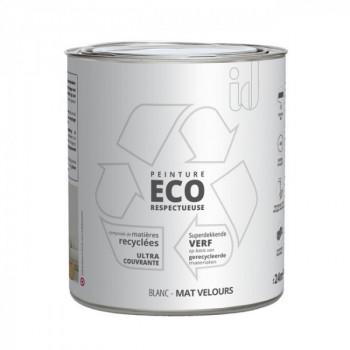 Peinture Eco responsable blanc mat 2L