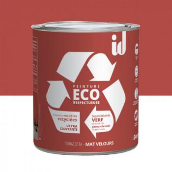 Peinture Eco responsable terracotta mat 2L