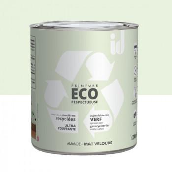 Peinture Eco responsable amande mat 2L
