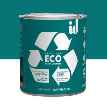 Peinture Eco responsable bleu canard mat 2L