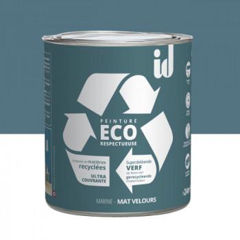 Peinture Eco responsable bleu marine mat 2L
