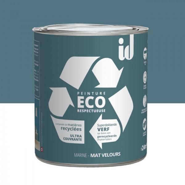 Peinture Eco responsable bleu marine...