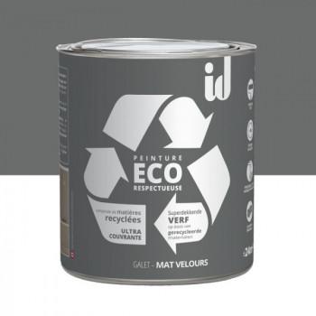 Peinture Eco responsable gris galet mat 2L