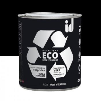Peinture Eco responsable noir mat 2L