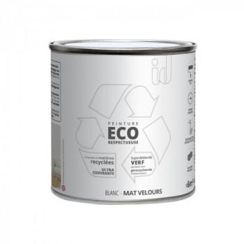 Peinture Eco responsable blanc mat 0,5L
