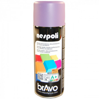 Peinture Bravo Spray aérosol multi-supports bleu lilas 400 ML
