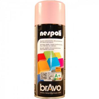 Peinture Bravo Spray aérosol multi-supports rose pâle 400 ML