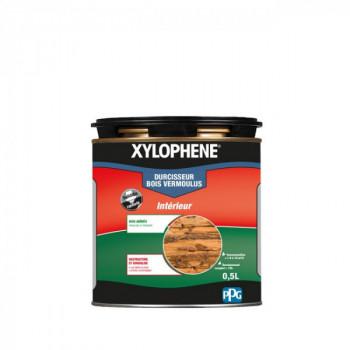 Peinture Xylophene durcisseur bois special vermoulus incolore 0.5 L