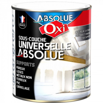 Sous-couche Oxitol absolue universelle blanc mat 2,5L