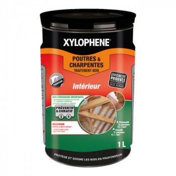 Peinture Xylophene poutre et charpente traitement spécial bois incolore 1 L