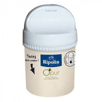 Peinture Ripolin Opur multi-supports blanc cassé satin 75ML