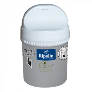 Peinture Ripolin Opur multi-supports gris galet satin 75ML