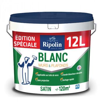 Edition spéciale : Peinture RIPOLIN blanc satin