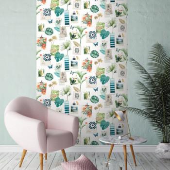 Papier peint tropic