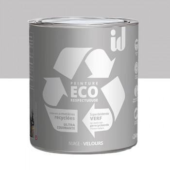Peinture Eco responsable gris nuage mat 2L