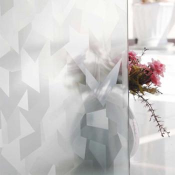 Film repositionnable motif graphite blanc 45 cm
