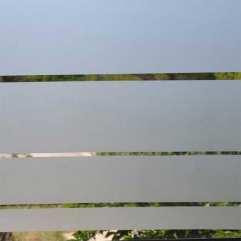Film repositionnable en frise grise 15 cm