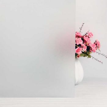 Film repositionnable motif givre blanc 90 cm