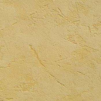 Papier peint effet béton jaune mat