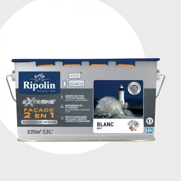 Peinture Ripolin extrême façade 2 en...