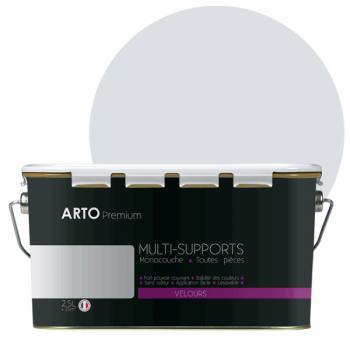Peinture arto premium multi - supports murs, plafonds, boiseries, plinthes et radiateurs cœur d'orchidée velours 2,5 L