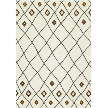 Tapis géométrique 80 x 150 cm