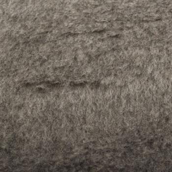 Tissu imitation fourrure gris 140 cm