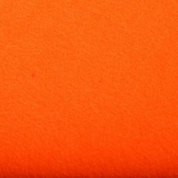 Tissu feutrine orange 180 cm